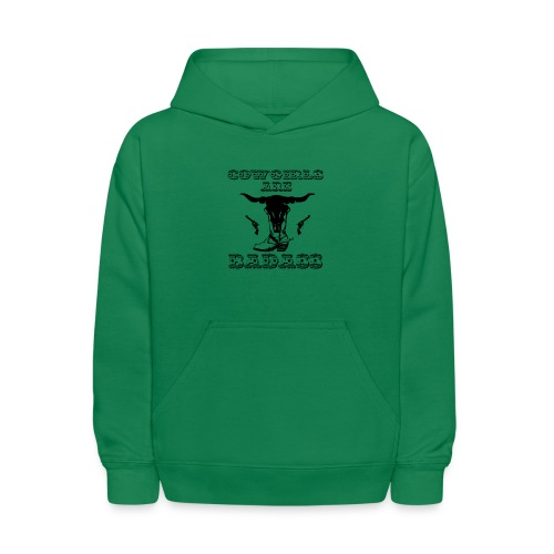 COWGIRLS ARE BADASS - Kids' Hoodie