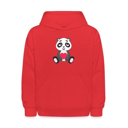 Sweetheart Panda - Kids' Hoodie
