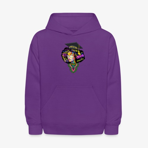 Smart Graduation Woman - Kids' Hoodie