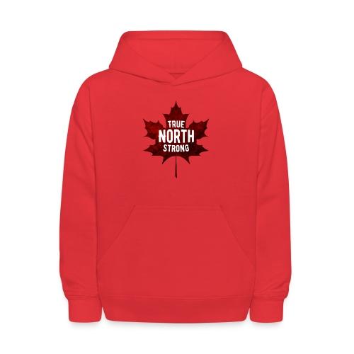 True North Maple Leaf - Kids' Hoodie