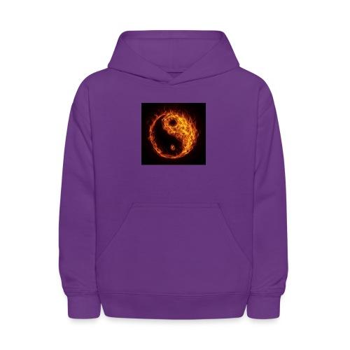 Panda fire circle - Kids' Hoodie