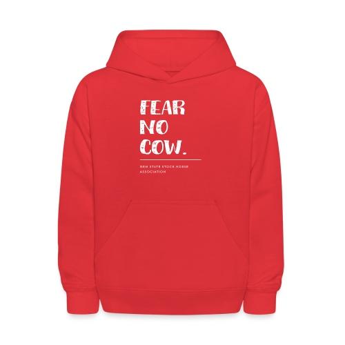 Fear no cow. - Kids' Hoodie