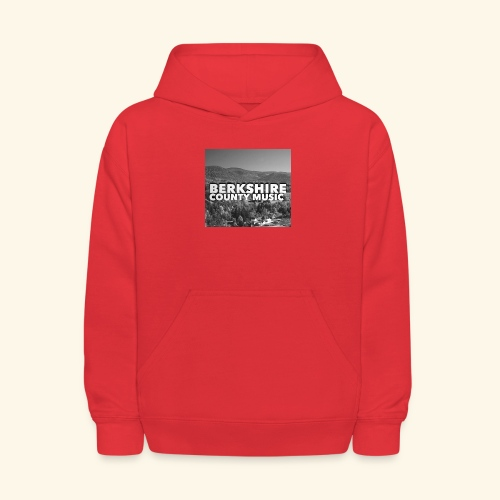 Berkshire County Music Black/White - Kids' Hoodie