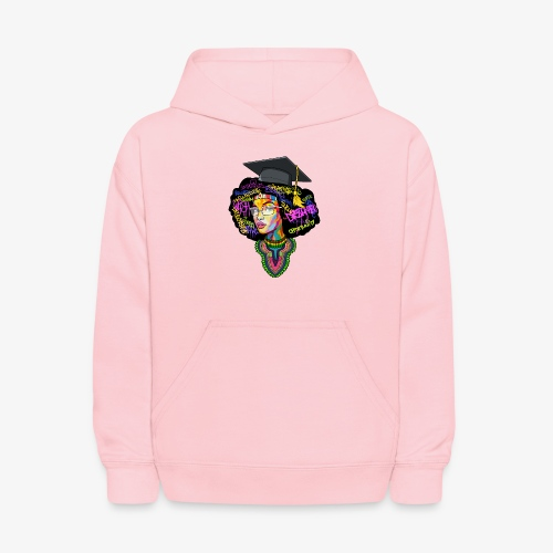 Black Educated Queen School - Kids' Hoodie