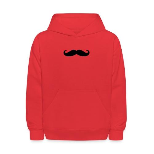 mustache - Kids' Hoodie
