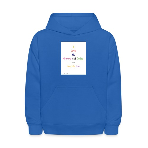 Hi I'm Ronald Seegers Collection-What I love - Kids' Hoodie