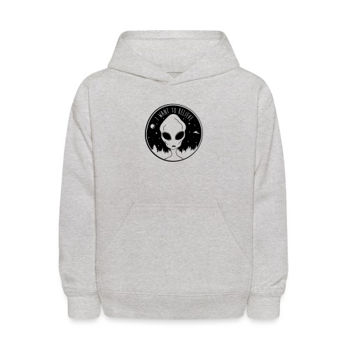 I Want To Believe - Kids' Hoodie