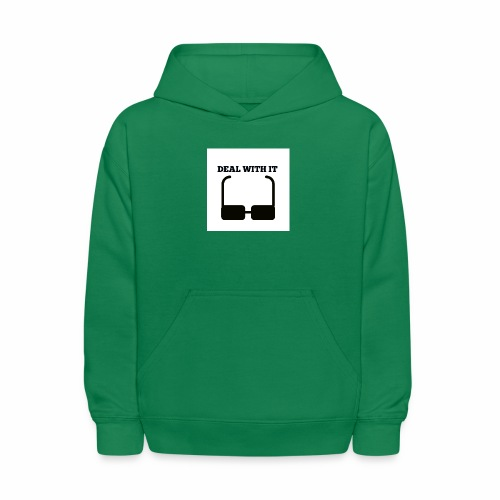 Deal with it - Kids' Hoodie