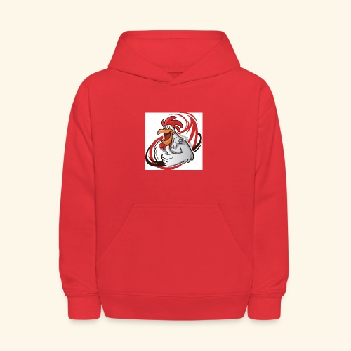 cartoon chicken with a thumbs up 1514989 - Kids' Hoodie