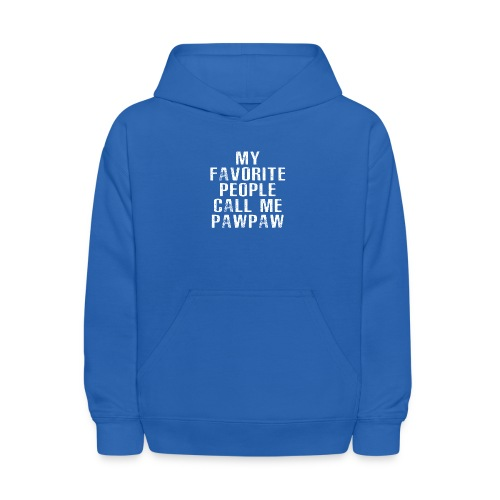 My Favorite People Called me PawPaw - Kids' Hoodie