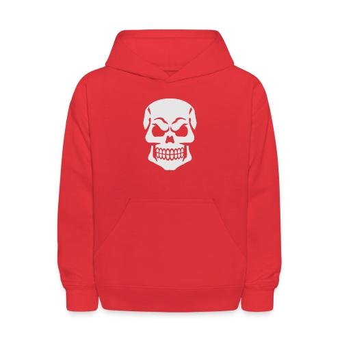 Skull Vector - Kids' Hoodie