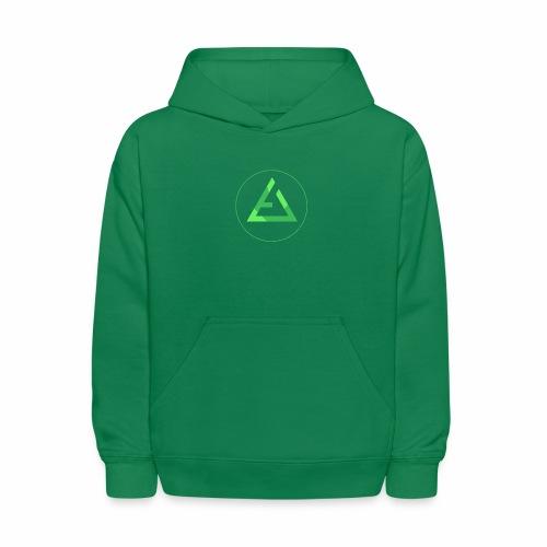 crypto logo branding - Kids' Hoodie