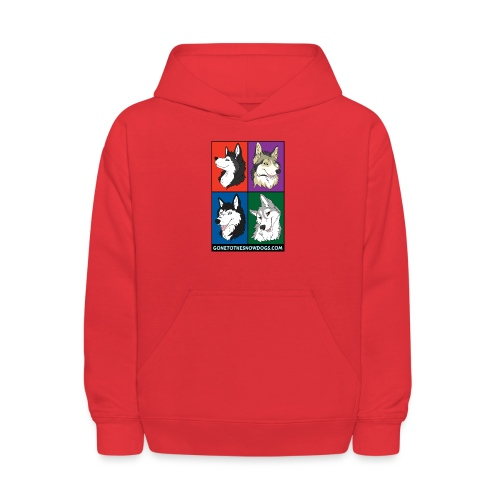 The Husky Girls - Kids' Hoodie