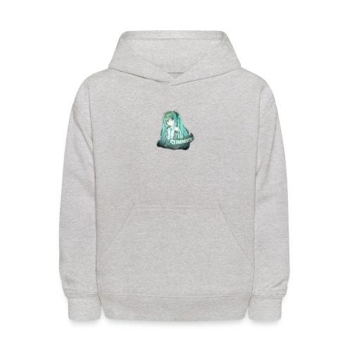 Summrrz Logo Transparent - Kids' Hoodie