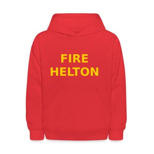 Fire Helton Shirt - Kids' Hoodie