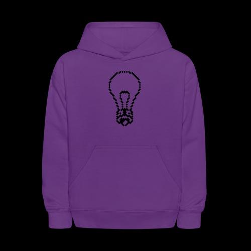 lightbulb - Kids' Hoodie