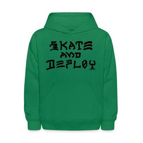 Skate and Deploy - Kids' Hoodie