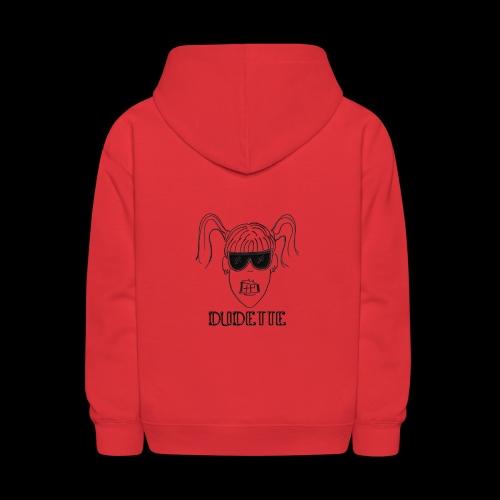 Dudette Head 1 - Kids' Hoodie