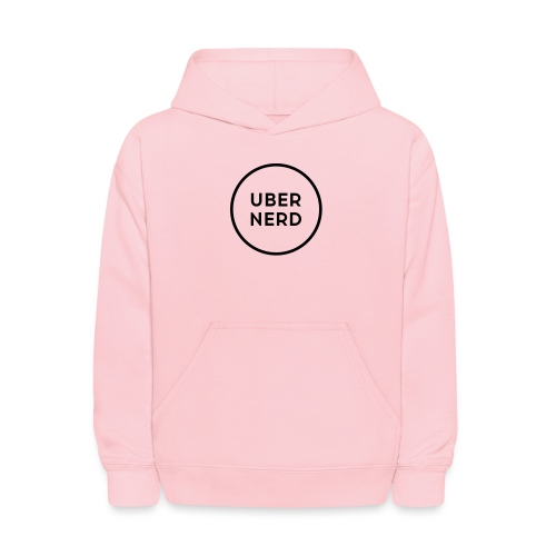 uber nerd logo - Kids' Hoodie