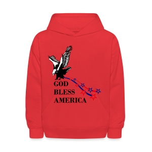 CUSTOM DESIGN GOD BLESS AMERICA - Kids' Hoodie