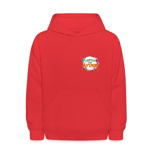 Playtime with Ayden - 1st edition - Red T-shirt - Kids' Hoodie