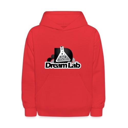 DreamLab Black/Gray - Kids' Hoodie