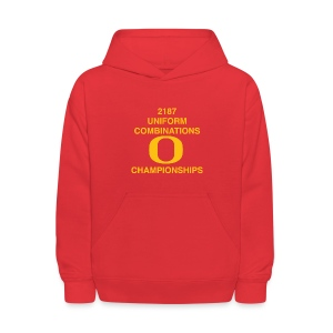 2187 UNIFORM COMBINATIONS O CHAMPIONSHIPS - Kids' Hoodie