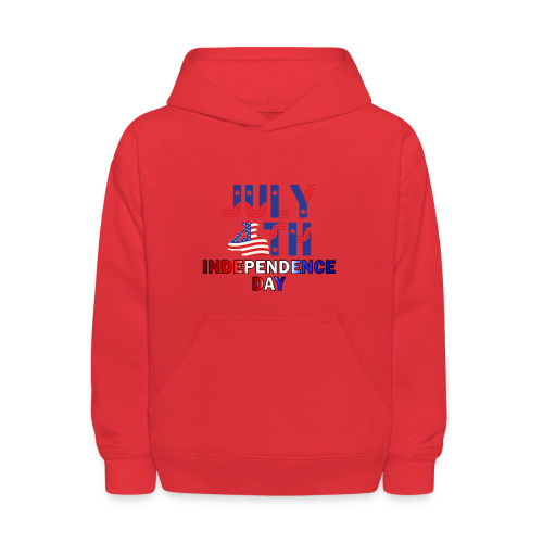 UNIQUE DESIGN 4th OF JULY T-SHIRTS - Kids' Hoodie