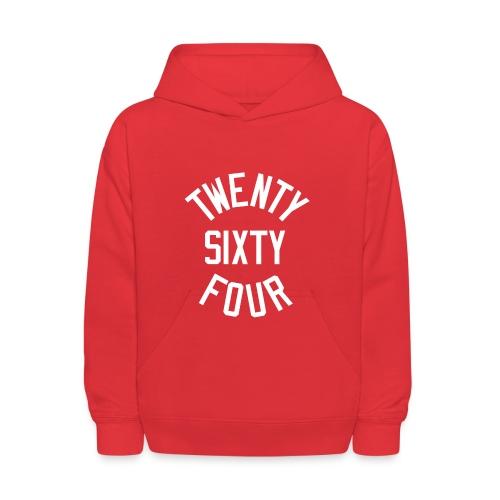 Twenty Sixty Four - Kids' Hoodie