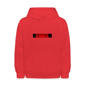 Black And Red Logo - Kids' Hoodie