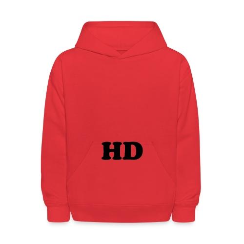 Offical hd logo merch - Kids' Hoodie