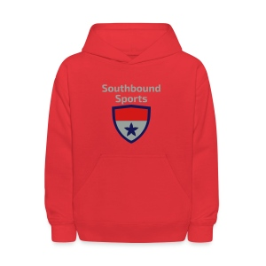The Southbound Sports Shield Logo. - Kids' Hoodie