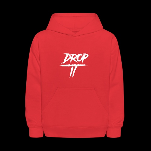 DROP IT Original Logo - Kids' Hoodie