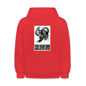 Fight the Black Snake NODAPL - Kids' Hoodie
