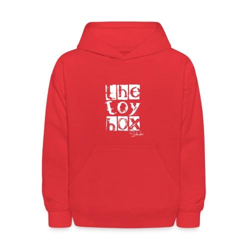 The Toy box Studio - White Logo - Kids' Hoodie