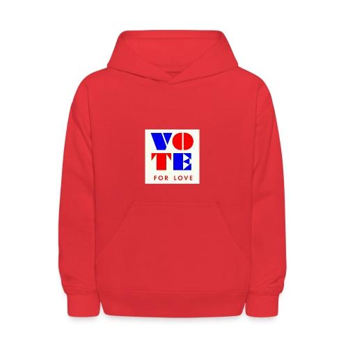 vote4love-sample - Kids' Hoodie