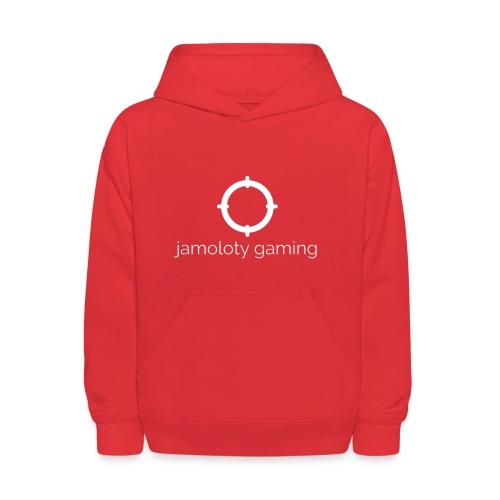 jamoloty gaming white - Kids' Hoodie