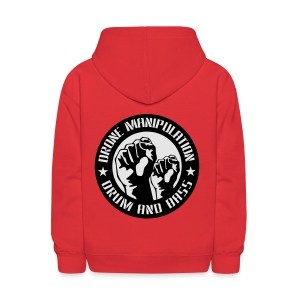 Drone Manipulation FISTS UP - Kids' Hoodie