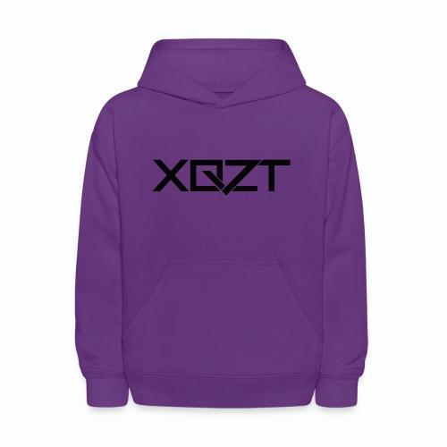 #XQZT Logo Ultra Noir - Kids' Hoodie