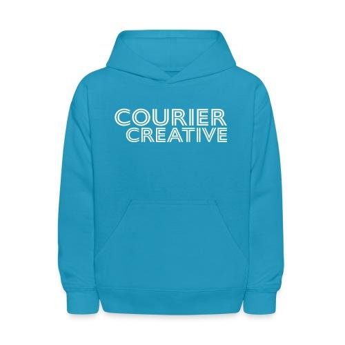 Courier Creative Logo - Kids' Hoodie