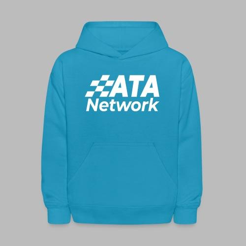 ATA Network Stacked Logo - Kids' Hoodie
