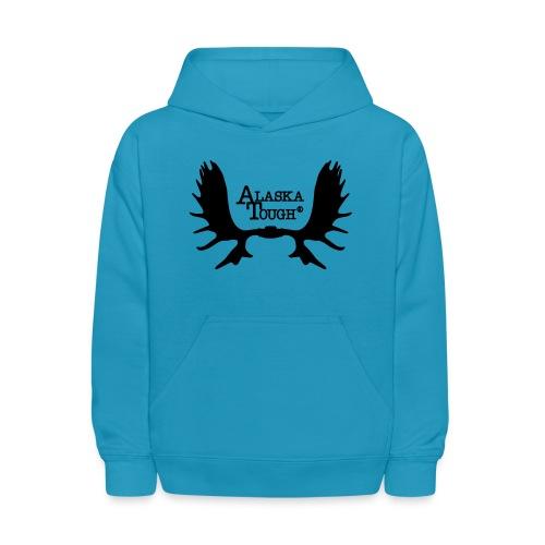 Moose Antler Logo SS - Kids' Hoodie