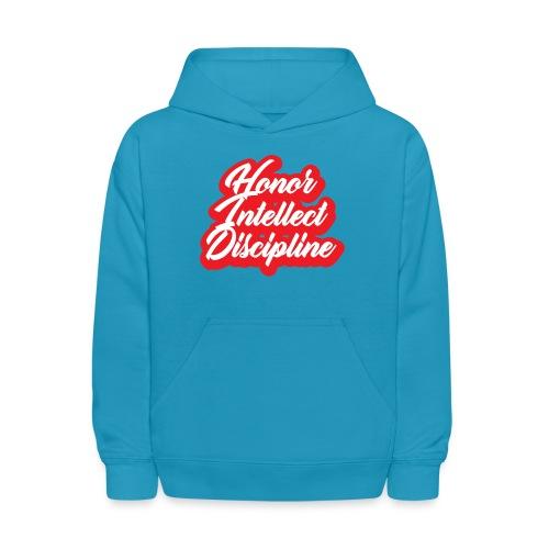 Honor Intellect Discipline - Kids' Hoodie