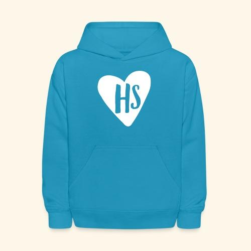 HS Heart Hoodie - Kids' Hoodie