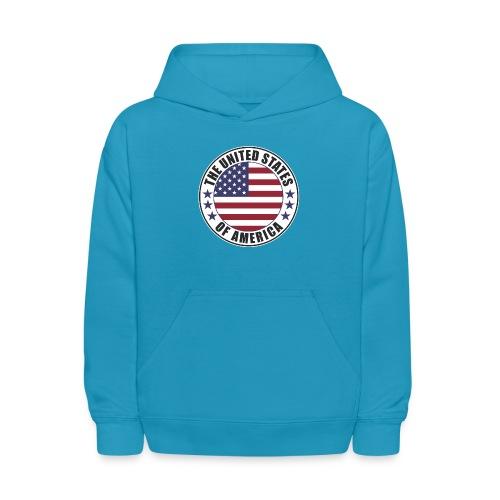 The United States of America - USA - Kids' Hoodie