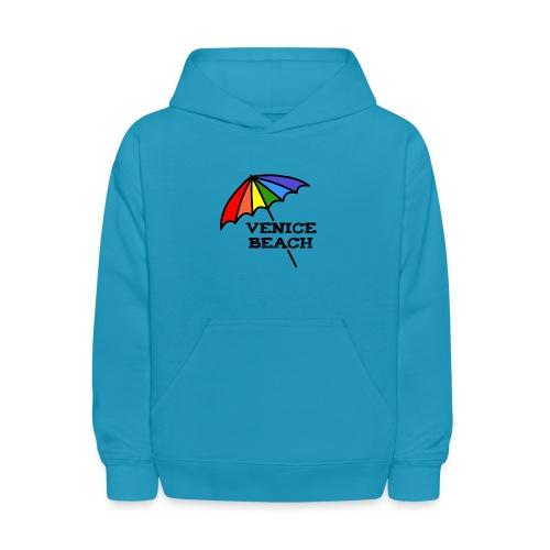 Venice Beach Rainbow Umbrella - Kids' Hoodie
