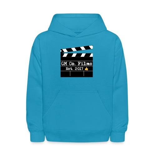 G M co Films logo + Subscribe combo - Kids' Hoodie