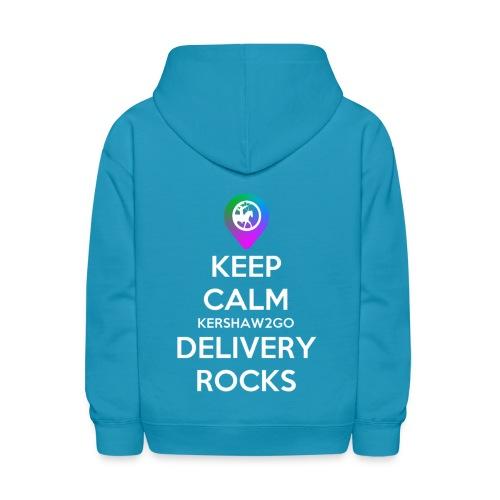 Keep Calm Kershaw2Go Delivery Rocks - Kids' Hoodie