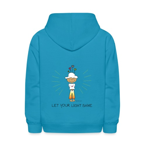 Let your light shine - Kids' Hoodie
