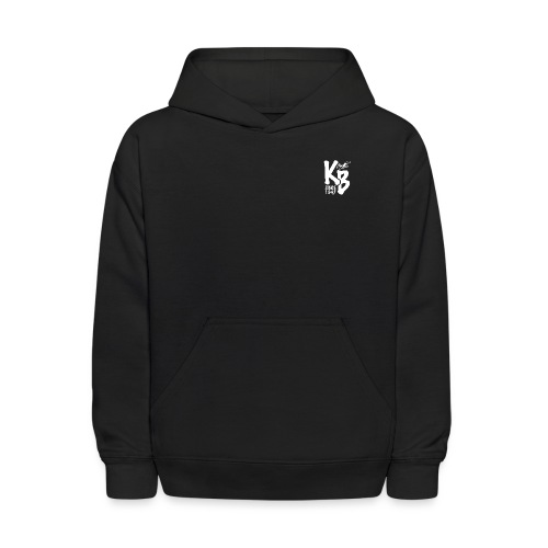 Kure Beach Day-White Lettering-Front and Back - Kids' Hoodie